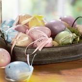 Стильные пасхальные яйца Melinera (12шт) Германия