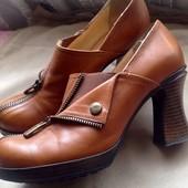Туфли кожаные Италия 38(37,24см)