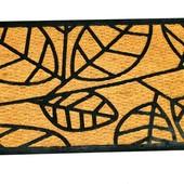 Придверный износостойкий коврик 45*75см кокосовое волокно и резина Florabest