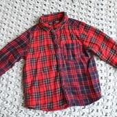 Рубашка Next размер 12-18 мес.