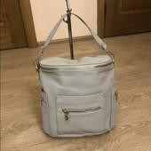 Рюкзак-сумка кож зам