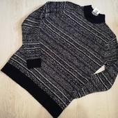 Германия! Мужской тёплый пуловер свитер размер L 52/54 по бирке!