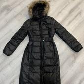 Пуховое пальто Colins, размер Xs-S, состояние нового, нюанс