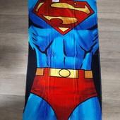 Полотенце огромное яркое супермен 70×140