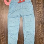 Легкие штаны джогеры на девочку от YoungStyle размер 134.