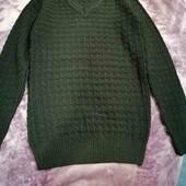 Новый мужской свитер, можно на подростка.