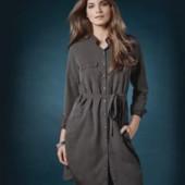 Платье-рубашка esmara,38-40 р,пог 49 см
