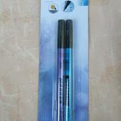 Lidl, Германия, набор ярких маркеров, металлик, 2 штуки