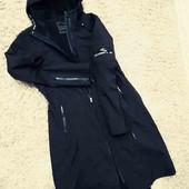термо пальто, парка, фирменная софт шелл на флисе) размер 48.50наш. Нюанс!