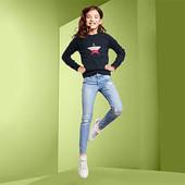Стильный свитер тонкой вязки с двусторонними пайетками от Tchibo (Германия), ориентир р.146\152