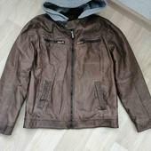 Фирменная куртка /Р. U-кожа /M!!!
