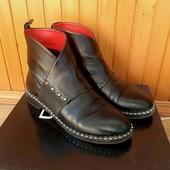 Кожаные ботинки, размер 37-38