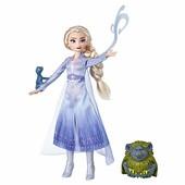 Ельза Фроузен2 з тролем і ящіркою оригинал Эльза frozen Elsa frozen 2 від Хасбро