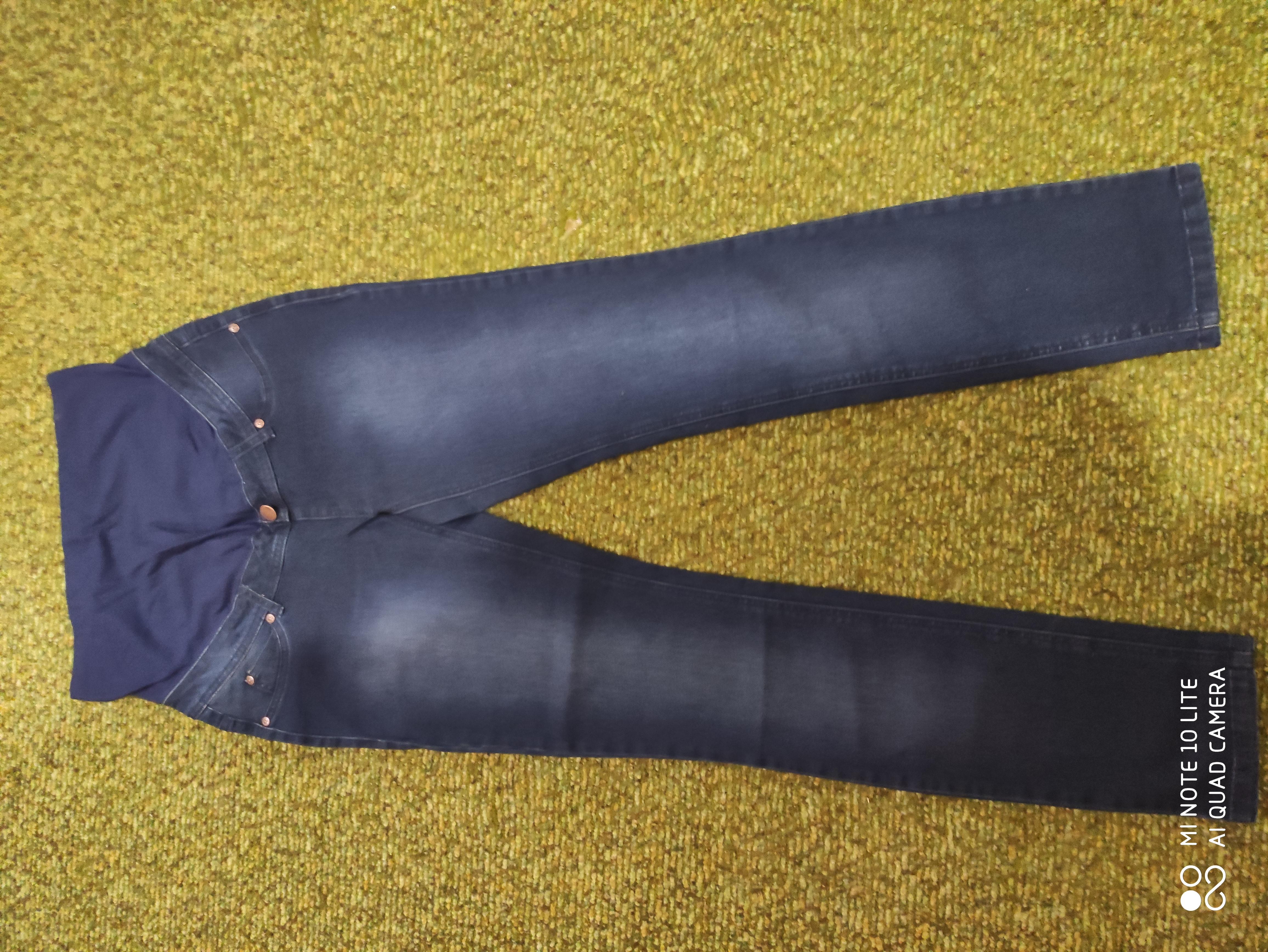 Новые джинсы на беременную.