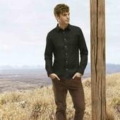Стильная джинсовая рубашка от Livergy Германия размер М 39/40