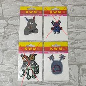 Тканевая аппликация для одежды (лот 1шт) KWM