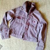 38-40р. Вельветовая куртка-пиджак с трикотажным воротом Cherokee