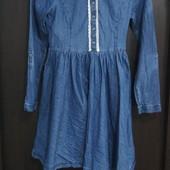 Стильное джинсовое платье George 12-13лет(152-158) Сост.отл!