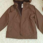 Куртка деми на парня 7-8лет