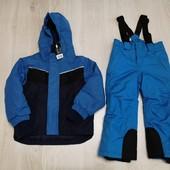 Германия! Crivit! Lupilu! Лыжный зимний костюм куртка штаны 98-104 2-4 года!