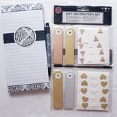Блокнот на магнитах с набором декоративных лент