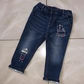 Стоп !❤ Фирменные класнющие джинсы,1-2 года ❤ Много лотов!