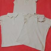 3 котонові білі футболки на 5-6,9-10,11-12 років. 1 розмір на вибір. Дивіться інші мої лоти