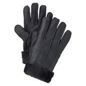 зимние женские перчатки из 100% натуральной овчины от boccaccio.