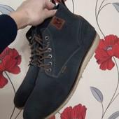 Стильные ботинки кожа