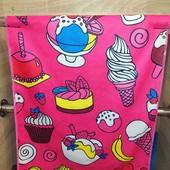 Яркие полотенца для кухни Полотенца 0,40 x 0,60, В лоте 2 шт. Микрофибра