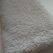 Махровий плотний добротний якісний банний рушник у відмінному стані 123*66 європейська якість