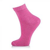 Носки женские AmiGА укороченные, малиновые, размер 23-25