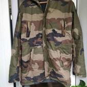 Куртка парка хаки милитари