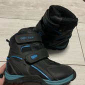 Термо ботиночки Deltex 25 размер стелька 16 см