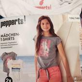 Pepperts футболки одним лотом 134-140 см