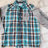 Рубашка topolino, 98р,в идеале