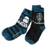 ☘ Лот 2 шт⚙ Якісні крутезние шкарпетки Star Wars від Tchibo (Німеччина), розміри: 38-41