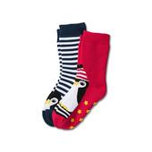 ☘Лот 1 пара протиковзких шкарпеток від Tchibo (Німеччина), розмір 27-30