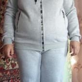 Женский теплый спортивный костюм размер 56-58