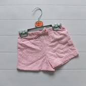Красивые шорты для девочки Primark, размеры ориентировочно от 6 мес до 4 лет