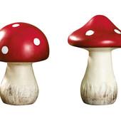 Супер декор) Красивые керамические грибочки Melinera Германия