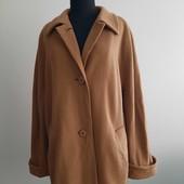 Кашемировое горчичное пальто. Англия