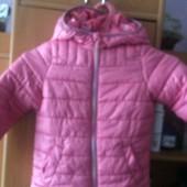 Куртка, холодная весна, р. 4-5 лет 110 см. Kiki&Koko. состояние хорошее