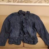 Джинсовая нарядная кофта
