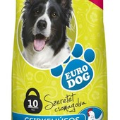 Корм для собак Евро Дог курица10 кг доставка бесплатно