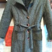 Зимнее пальто из войлока на XS