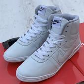 Мужские Кожаные хайтопы Nike все размеры в наличии!!