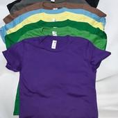 Все цвета!шикарные детские футболки,унисекс. Бангладеш фирма anvil 100% хлопок