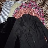 Одним лотом штаны, рубашки и пиджак
