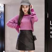 На весну! Супер стильная мини юбка экокожа. Размер на выбор!
